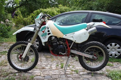 KTM LC4 600 Bez prawa rejestracji.