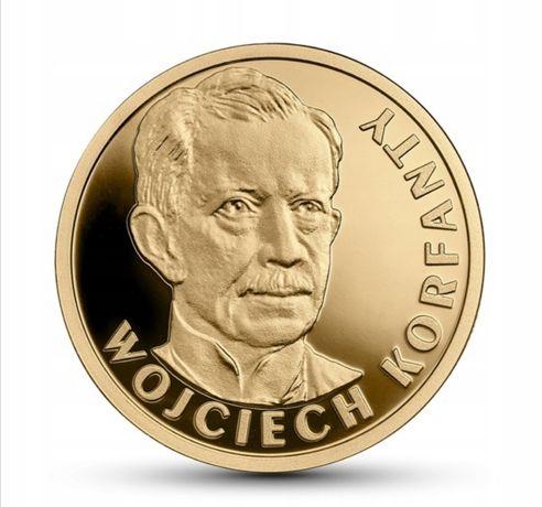Złota Moneta 100zł Wojciech Korfanty