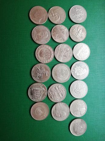 MONETY PRL zestaw 19 sztuk.
