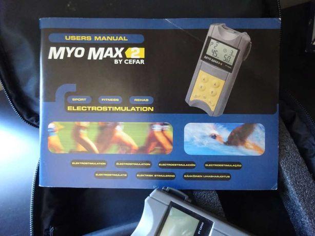 Myo Max 2 - Electrico estimulador Musculação.