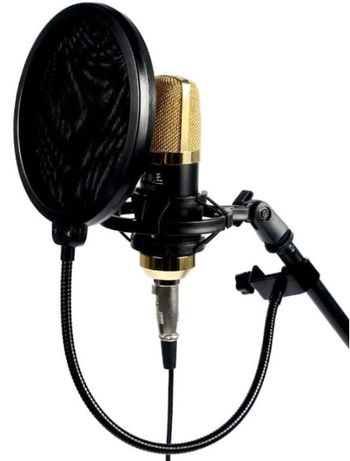 Pop Filtr mikrofonowy PS-1 osłona mikrofonu MOZOS