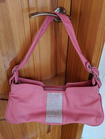 Итальянская сумочка-клатч из натуральной кожи.