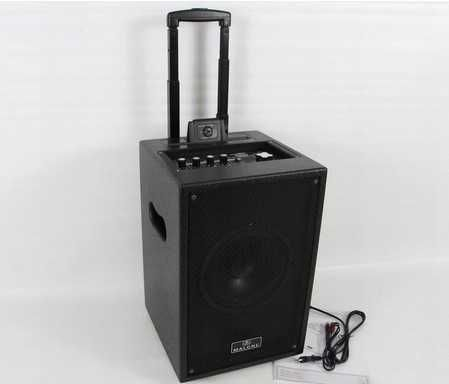 Aktywna kolumna z systemem PA, Karaoke, MP3,USB/SD MALONE