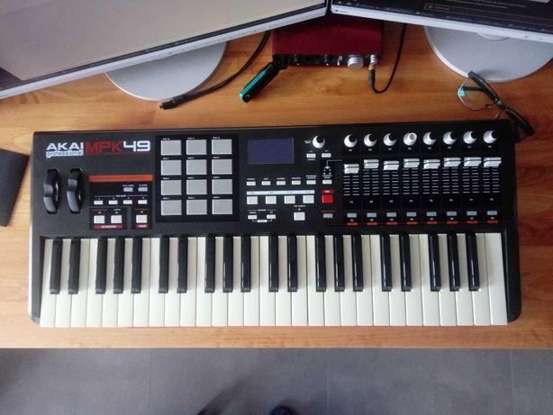 AKAI MPK49 - klawiatura sterująca USB/MIDI