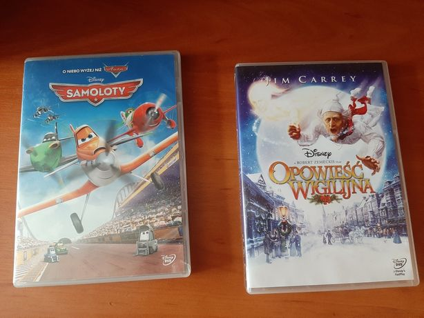 (DVD) Samoloty I Opowieść Wigilijna (Disney)