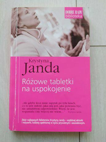 """Książka """"Różowe tabletki na uspokojenie"""" K. Janda"""