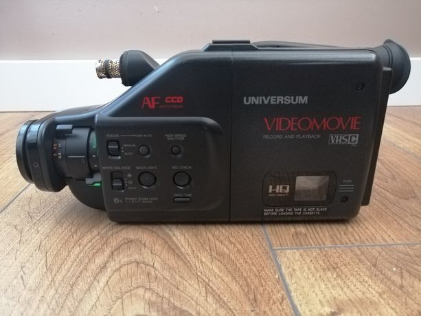 Kamera VHS Universum. Dla pasjonatów!!!