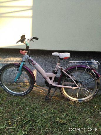 Rower miejski dla dziewczynki 22 cale holenderski Alpina