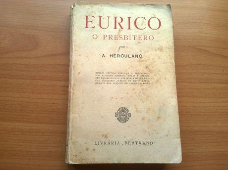 Eurico O Presbítero - Alexandre Herculano (portes grátis)
