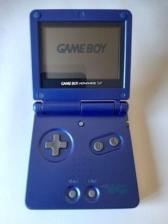 Gameboy advance sp blue kyogre