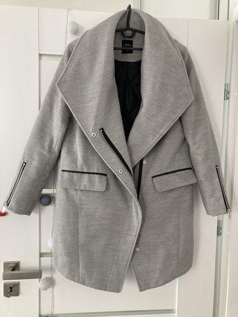 Płaszcz damski House S siwy jak nowy