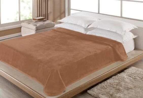 Cobertores em veludo