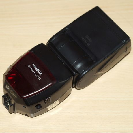 Minolta 5200i • 3500xi • Sony A вспышка