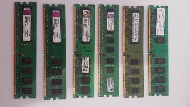 Оперативна память DDR2 - 2Gb маю 20шт. - Intel / AMD