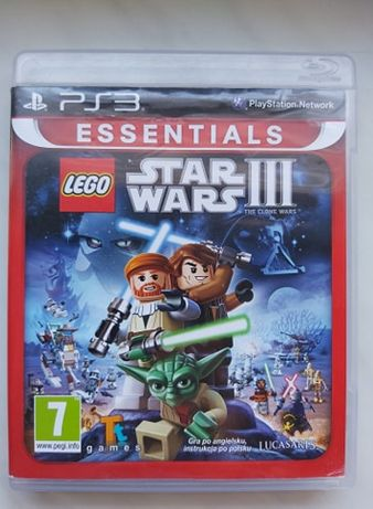 Gra Star Wars III PS3