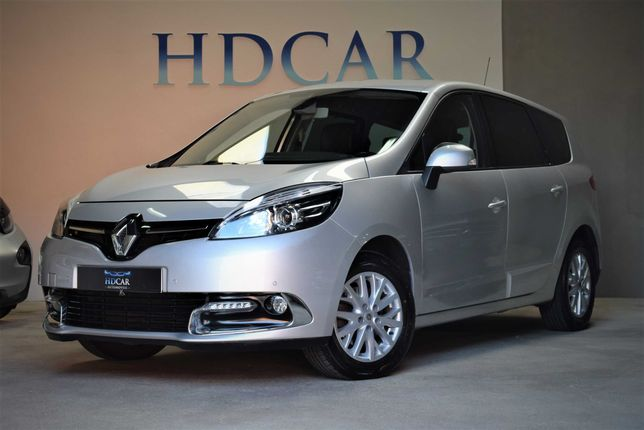 153€ Mês | Renault Grand Scenic 1.5 dCi 110cv 7 LUGARES | ANO: 2014/05