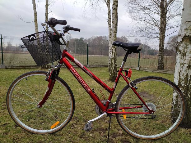 Mongoose. Komfortowy rower miejski