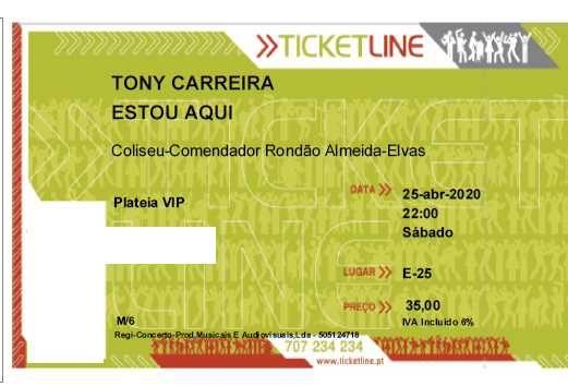 Elvas - Tony Carreira 16 de Outubro 2021