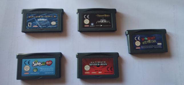 5 jogos GameBoy Advance