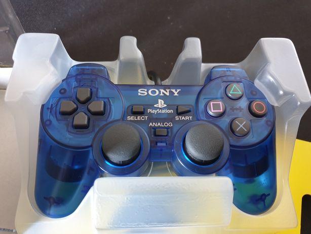 PS2 Pad Blue Ocean 100% sprawny