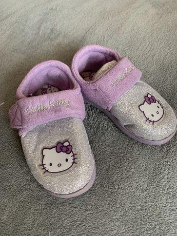 Детские тапочки на девочку Hello Kitty