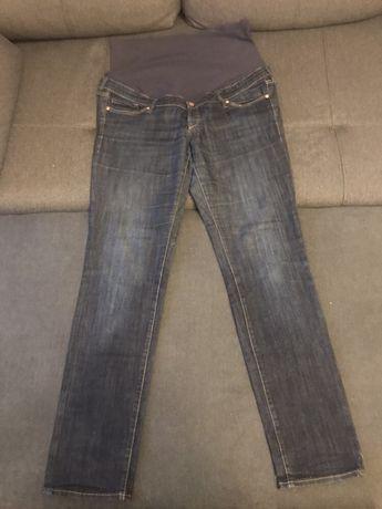 Jeansy spodnie h&m mama 46 dla ciężarnej