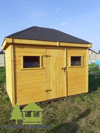 Domek Narzędziowy Alan 3x2 Piękno Drewna SZYBKA REALIZACJA
