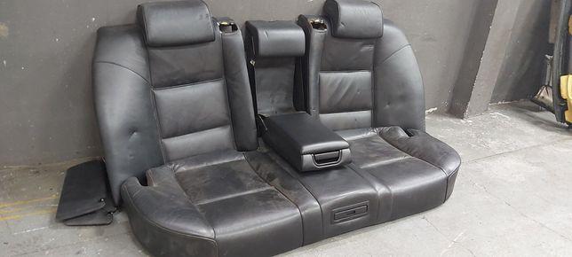 BMW E38 Kanapa czarna skórzana