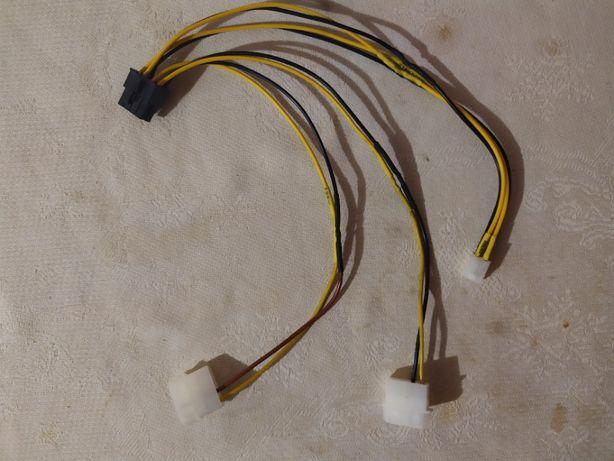Удлинитель (адаптер) 8 пин питания процессора ~30 см