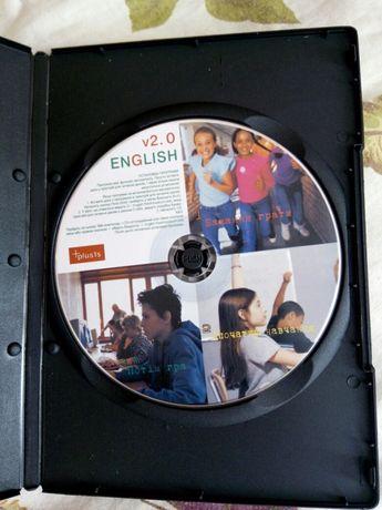 Навчальний диск до комп'ютера для школярів від 1—8 класів!