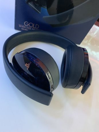 Słuchawki Sony GOLD 500 Million Edition PS4 PS5