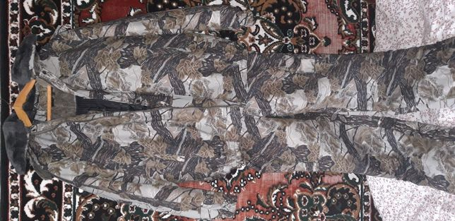 Камуфляжный осенне-зимний костюм