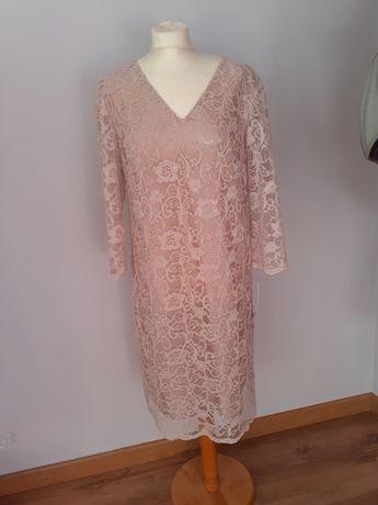 Sukienka stary róż rozm.44/XL