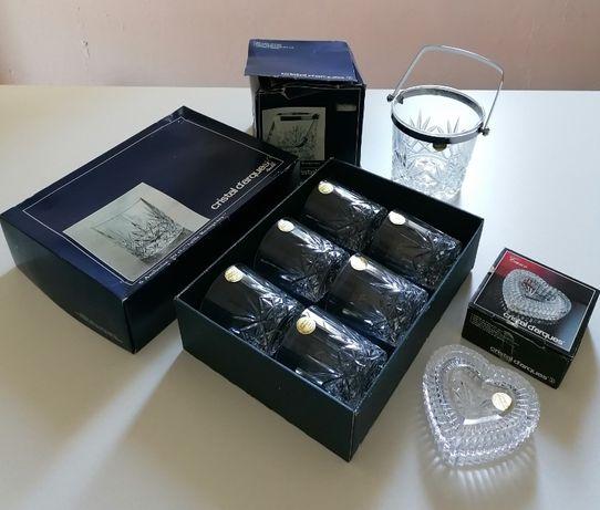 Conjunto de peças da Cristal D'arques   NOVO