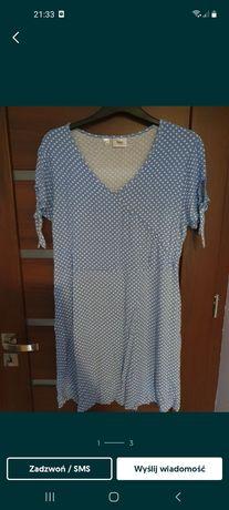 Sukienka letnia  w groszki 44/46 może być ciążowa