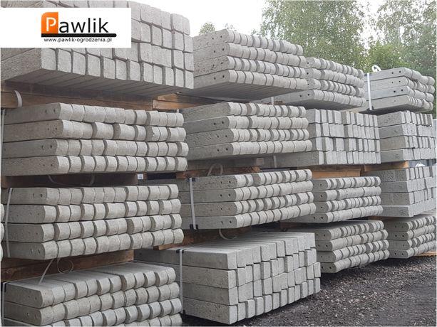 Słupki betonowe 1.8m słupek betonowy siatka leśna