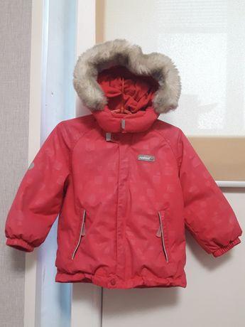 Куртка Reima Tec (малиновая). На 1,5-2 года, размер 86.