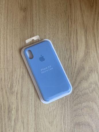 Apple etui case iphone x/xs ciemny niebieski