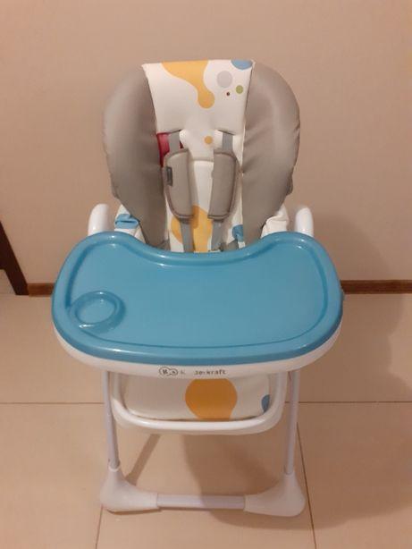 Krzesełko do karmienia z gwarancją