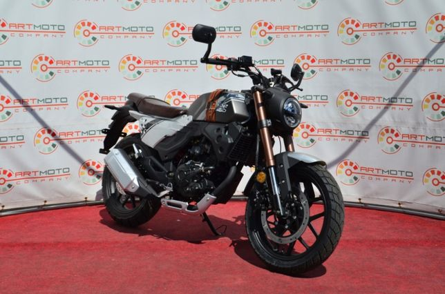 Мотоцикл Lifan KPM 200 Новый , не Geon scrambler Spark Bajaj Shiner