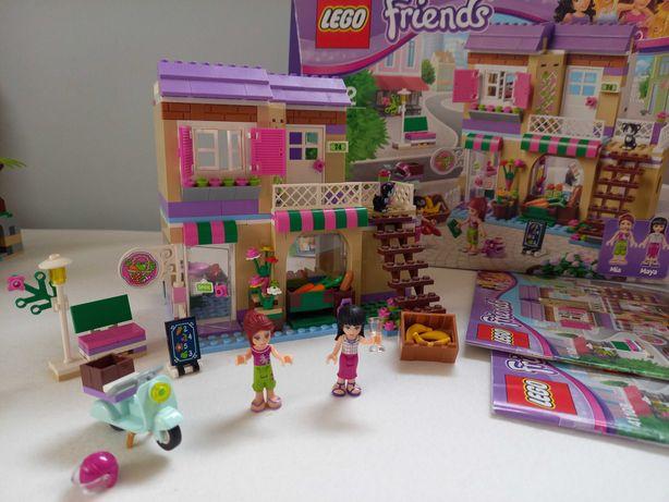 Lego Friends 41108 Targ warzywny - pudełko, instrukcja
