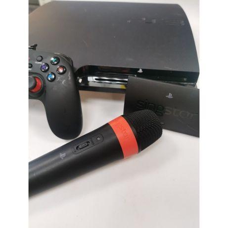PLayStation 3 150 GB, zestaw karaoke PS3