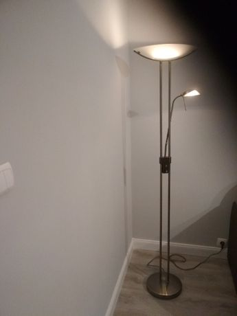 Lampa stojąca dwa punkty świetlne