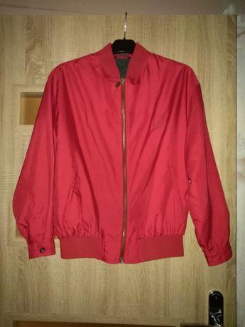 Czerwona kurtka chłopięca bamberka