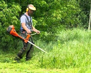Косіння трави   трава покосить