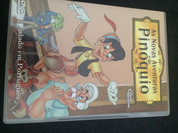 dvd Pinoquio