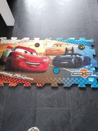 Mata puzzle dla chlopca auta