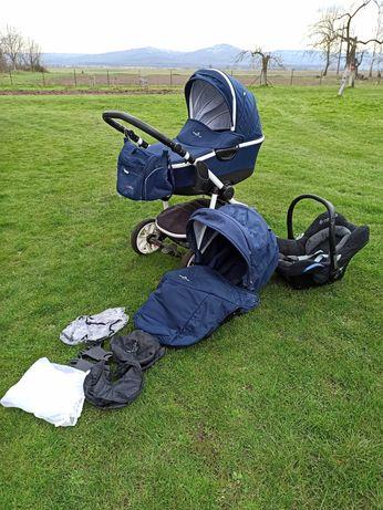 Wózek dziecięcy Bebetto silvia 2w1 + nosidełko maxi cosi