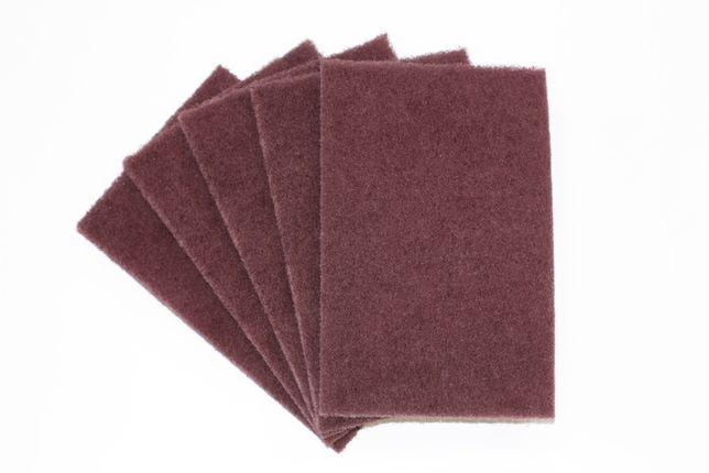 Шлифовальные листы - скотч-брайт - нетканка - Medium - 10 шт.