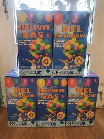 Butla z helem hel do balonów XL żel gratis